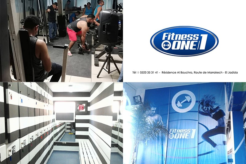 fitness, one, gym, salle, sport, el, jadida