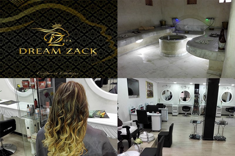 dream, zack, spa, massage, coiffure, el, jadida