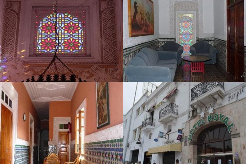 hotel, royal, el, jadida