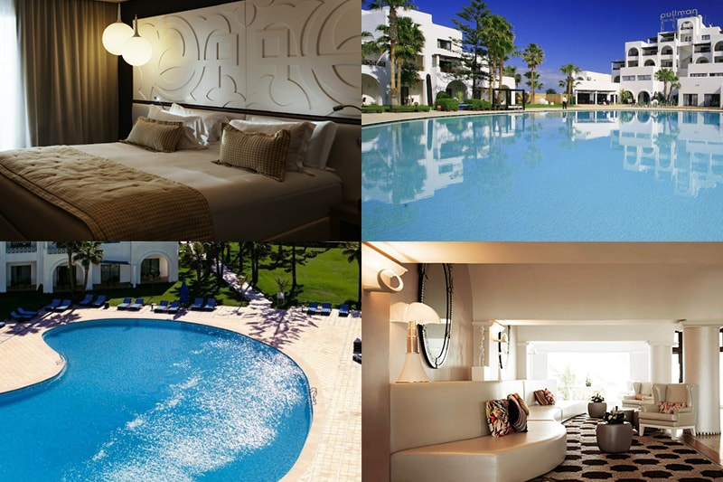pullman, mazagan, royal, golf, spa, hotel, el, jadida