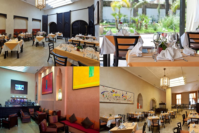 restaurant, art, suites, el, jadida